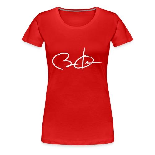 Barack Obama's Signature - Women's Premium T-Shirt