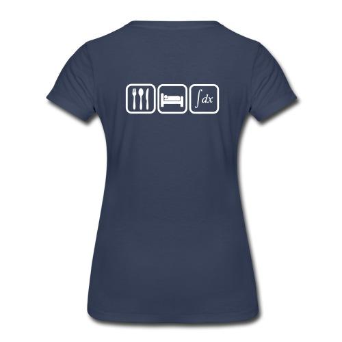 T shirt maths humor, eat, sleep, calculate - Women's Premium T-Shirt