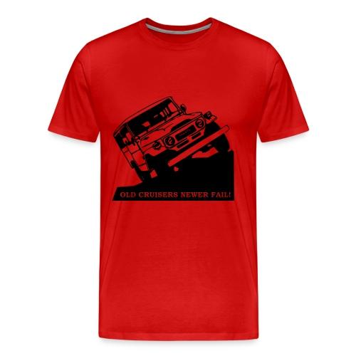 Fj Cruiser Black graphic - Men's Premium T-Shirt