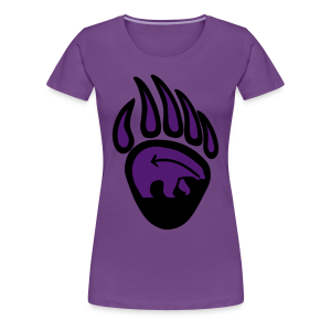 Tribal Claw Art Women's Shirts Plus Size  - Women's Premium T-Shirt