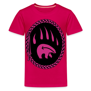 Tribal Art Kid's Shirt First Nations Bear T-shirt - Kids' Premium T-Shirt