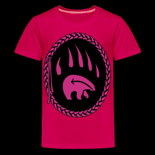 Tribal Art Kid's Shirt First Nations Bear T-shirt - Kids' Premium T-Shirt