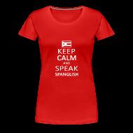 Women's T-Shirts ~ Women's Premium T-Shirt ~ Spanglish