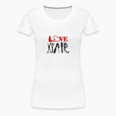 hair stylist's love (1c) Women's T-Shirts
