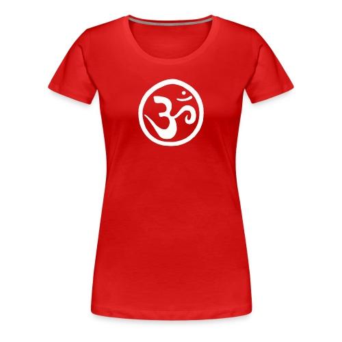 Tibetan Ohm - Women's Premium T-Shirt