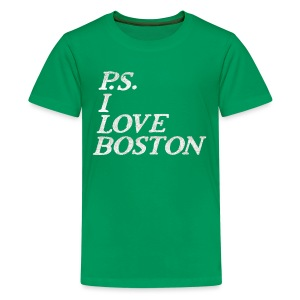 P.S. I Love Boston - Kids' Premium T-Shirt