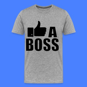Like A Boss Thumbs Up T-Shirts - Men's Premium T-Shirt