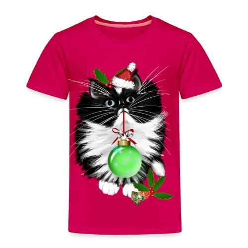 A Tuxedo Merry Christmas - Toddler Premium T-Shirt