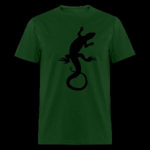Men's Lizard Art Shirt Classic Reptile T-shirt - Men's T-Shirt