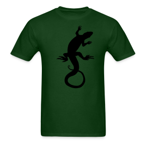Men's Lizard Art Shirt Classic Reptile T-shirt - Men's T-Shirt