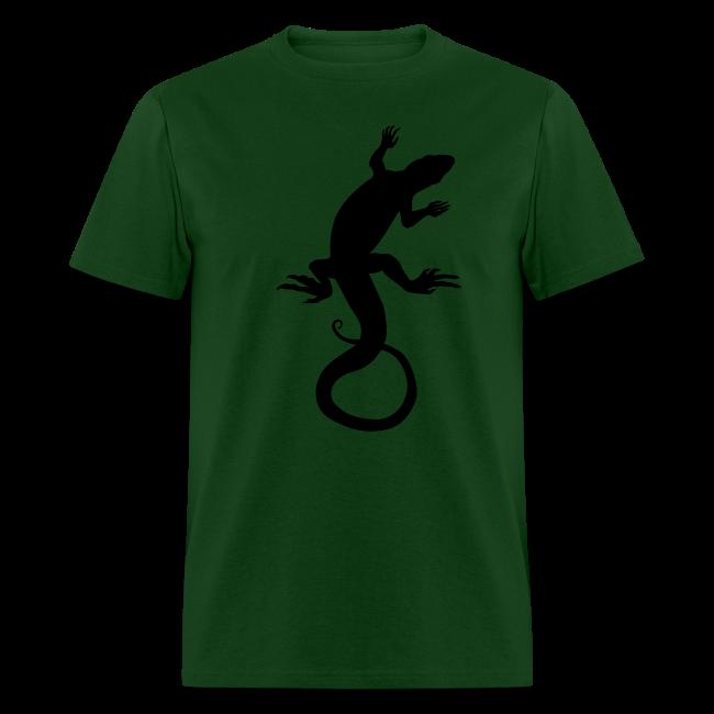 Men's Lizard Art Shirt Classic Reptile T-shirt