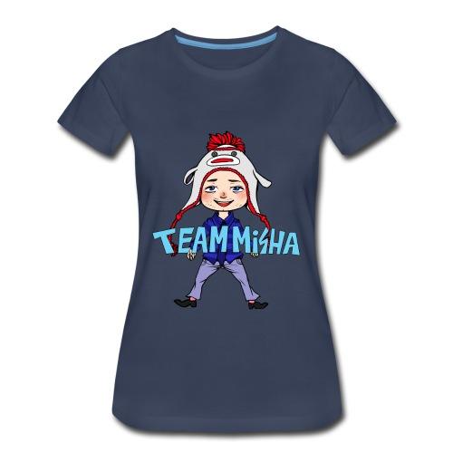Team Misha [DESIGN BY CHARLIE] - Women's Premium T-Shirt