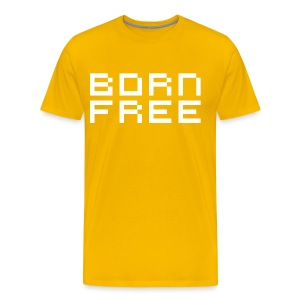 Born Free - Men's Premium T-Shirt