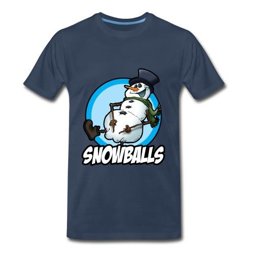 Snowballs - Men's Premium T-Shirt