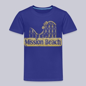 Vintage Mission Beach - Toddler Premium T-Shirt
