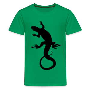 Kid's Lizard T-shirt Cool Reptile Art T-shirt - Kids' Premium T-Shirt