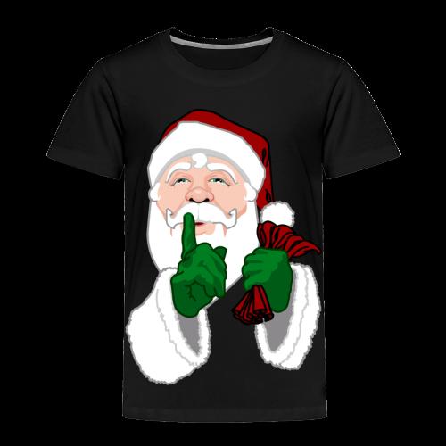 Santa Clause Toddler T-shirts Christmas Santa Shirts - Toddler Premium T-Shirt