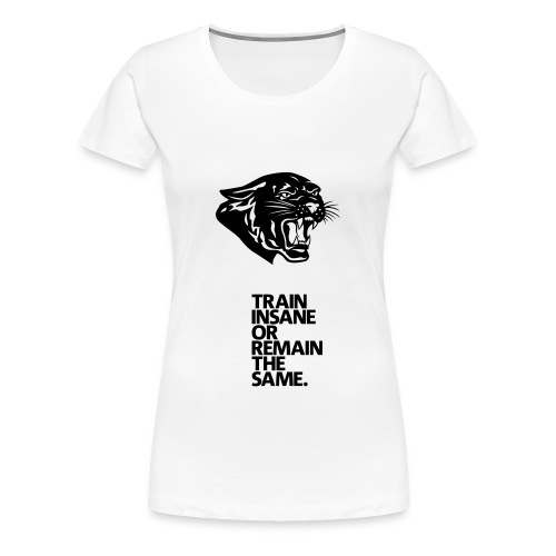 Women's Premium T-Shirt - train hard.
