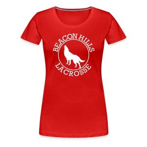 MAHEALANI 6 - Tee (XL Logo, NBL) - Women's Premium T-Shirt