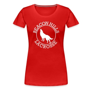 SOURWOLF 1 - Tee (XL Logo, NBL) - Women's Premium T-Shirt