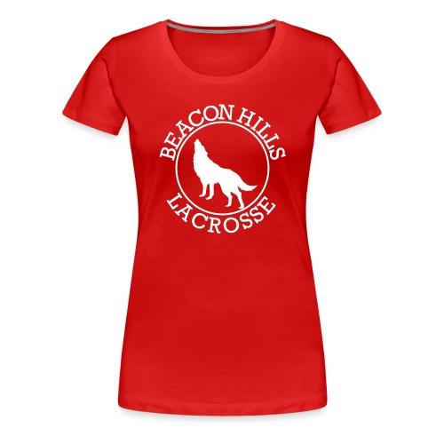 SOURWOLF 1 - Tee (XL Logo, NBL) - Women's Premium T-Shirt