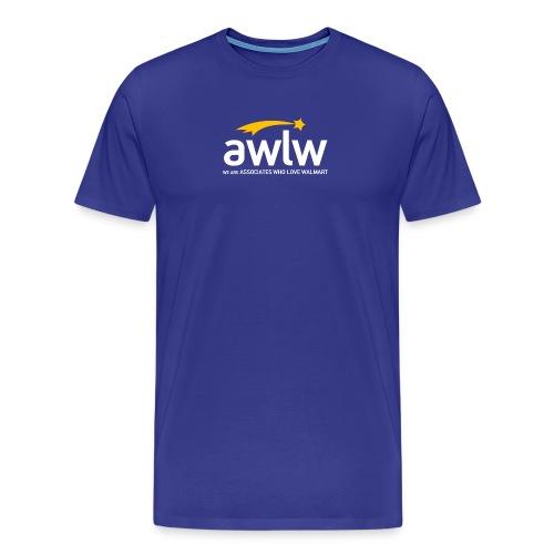 AWLW Logo Tee - Men's Premium T-Shirt