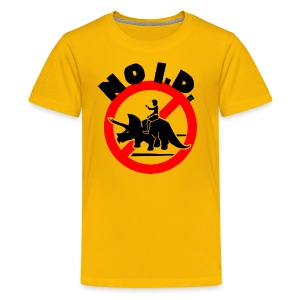 NO Intelligent Design by Tai's Tees - Kids' Premium T-Shirt