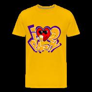 T-Shirts ~ Men's Premium T-Shirt ~ I Love To Party. TM  mens tee
