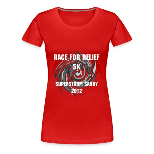 Race for Relief Short Sleeve Woman's Tee - Women's Premium T-Shirt