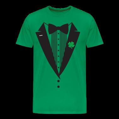 St Patrick's Day Tuxedo T-Shirt
