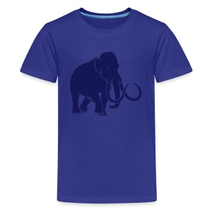 animal t-shirt mammoth elephant tusk ice age mammut - Kids' Premium T-Shirt