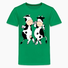 Mooviestars - Dancing Cows Kids' Shirts