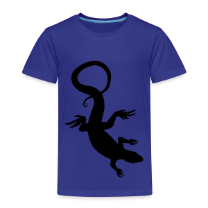 Baby Lizard Shirts Toddler Reptile Art T-shirt - Toddler Premium T-Shirt