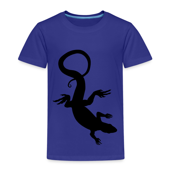Baby Lizard Shirts Toddler Reptile Art T-shirt