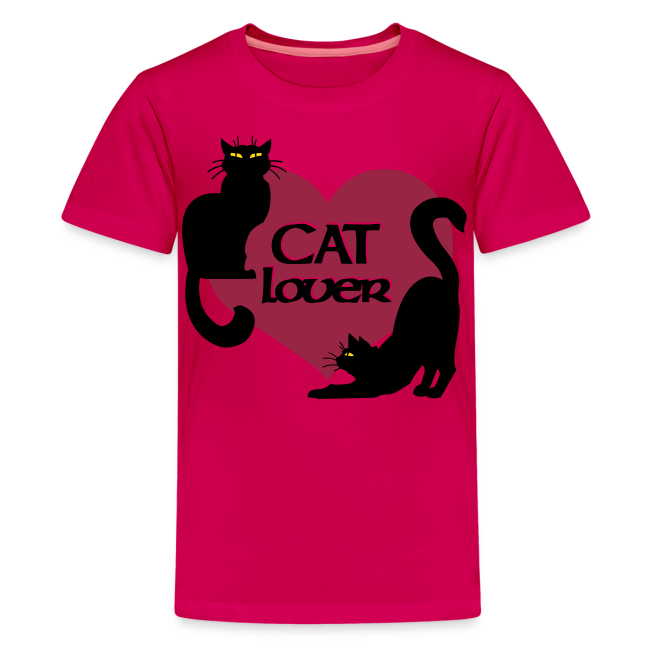 Cat Lover Shirts Kid's Shirts Cat T-shirt