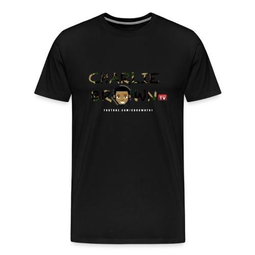 Men's Camo | CbrownTV Tee - Men's Premium T-Shirt