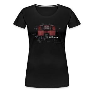 Woman's Electronium T-Shirt - Women's Premium T-Shirt