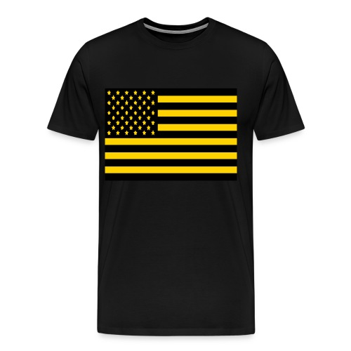 America Goldmine - Men's Premium T-Shirt