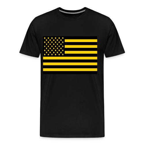America Goldmine - Men's Premium T-Shirt