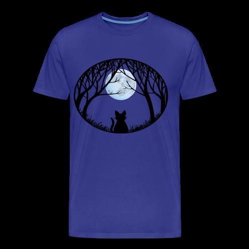 Fat Cat Shirts Men's Cat Lover 4XL T-shirt  - Men's Premium T-Shirt