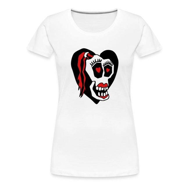 Skull Girl LOVE Classic-T