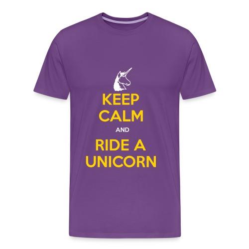 Keep Calm Laker Style - Men's Premium T-Shirt