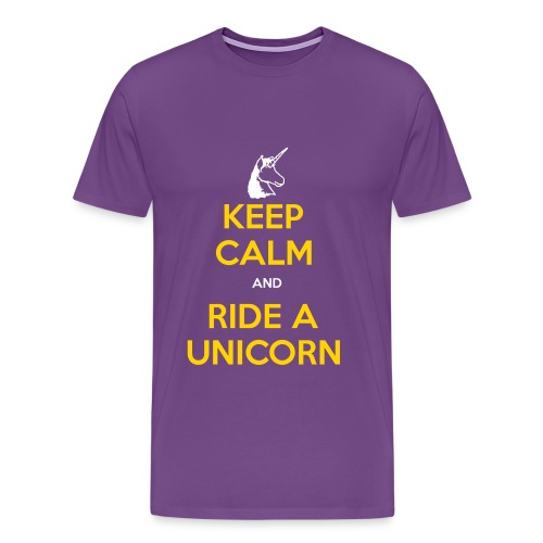 Keep Calm Laker Style - Men's Premium T-Shirt