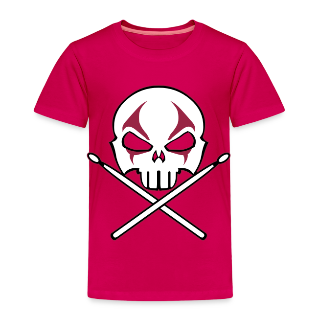 Rock and Roll Drummer Shirt Baby Heavy Metal Drummer T-shirt