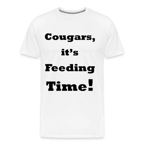 Feeding Time    BLA230 - Men's Premium T-Shirt