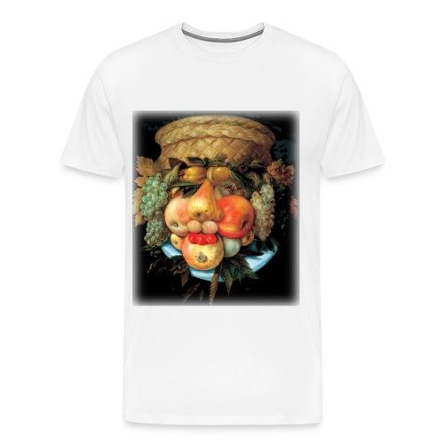 Arcimboldo - Fruit  - Men's Premium T-Shirt