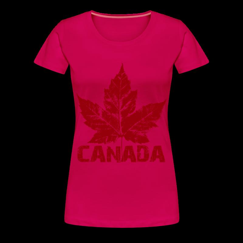 Women's Cool Canada Souvenir T-shirt Plus Size Canadian T-shirts T ...