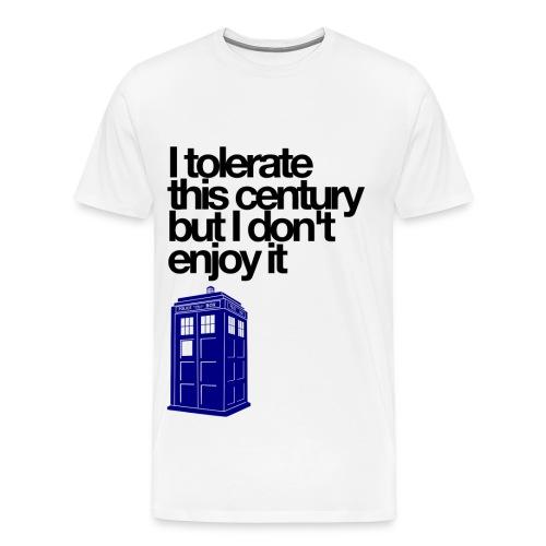 Doctor Who (White) - Men's Premium T-Shirt