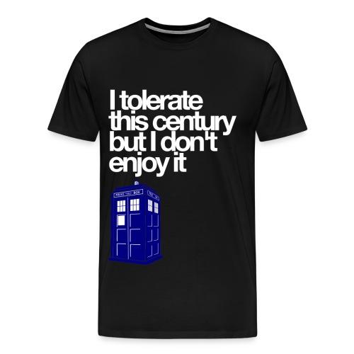 Doctor Who (Black) - Men's Premium T-Shirt