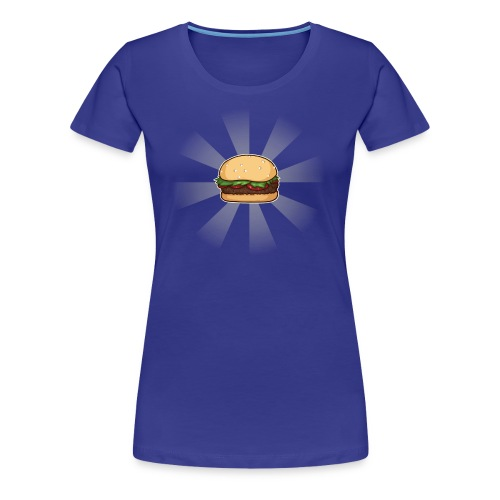 Space Burger (F) - Women's Premium T-Shirt